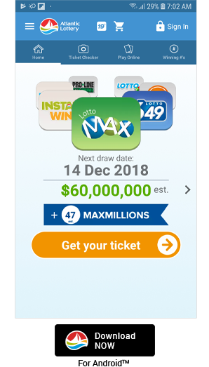 Download Atlantic Lottery Mobile   Atlantic Lottery Corporation